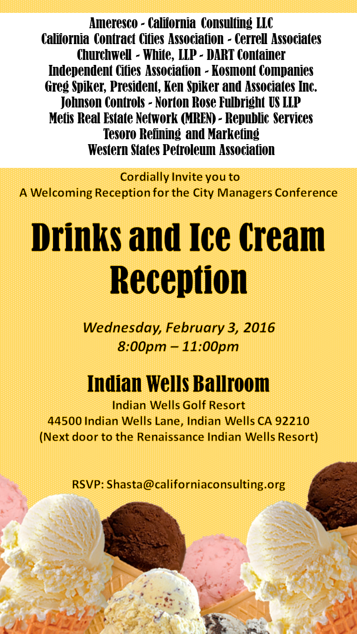 2-3-16 Icecream Social CIty Managers
