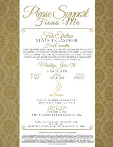 Fiona Ma Treasurer