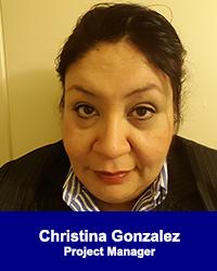 Christina Gonzalez, Project Manager
