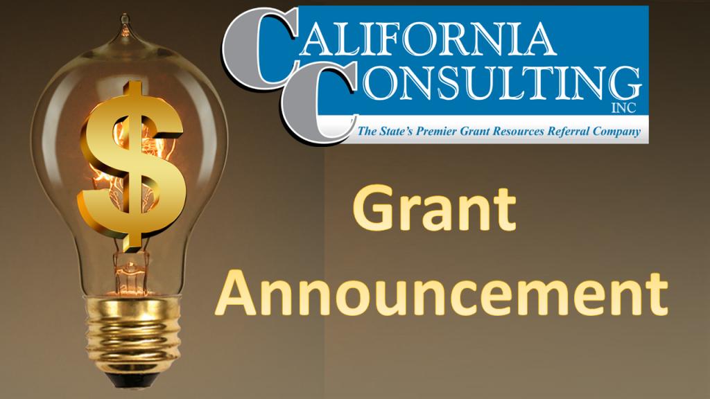 California Consulting Grant Announcement